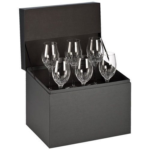Waterford Crystal Lismore Essence White Wine Deluxe Gift Box Set of (Deluxe Wine Box Set)