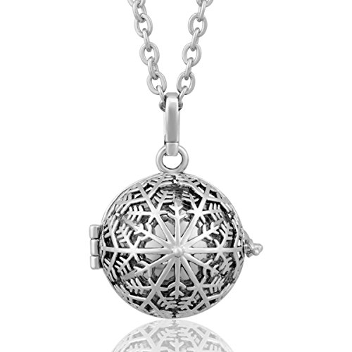 EUDORA Harmony bola Snow Flower Mother's Day Gift Musical Chime Ball Pendant Pragnancy - Delivery Day Free