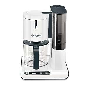 Bosch TKA8011 - Máquina de café, 1160 W, capacidad para 10/15 tazas, color blanco