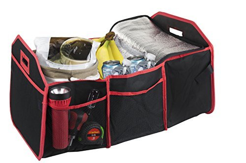 Home Basics CS49031 Trunk Organizer with Cooler by - Home Basics Trunk Organizer