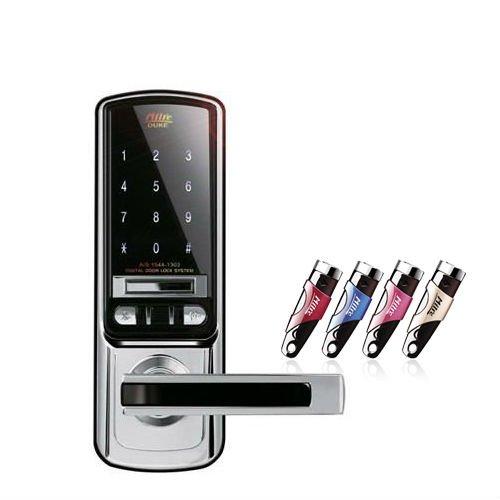 Milre MI-5000 DUKE  デジタルドアロック、キーレスドアなど、英語マニュアル Milre MI-5000 DUKE Digital Door Lock, Keyless Door, English Manual including B00SYDR2M4