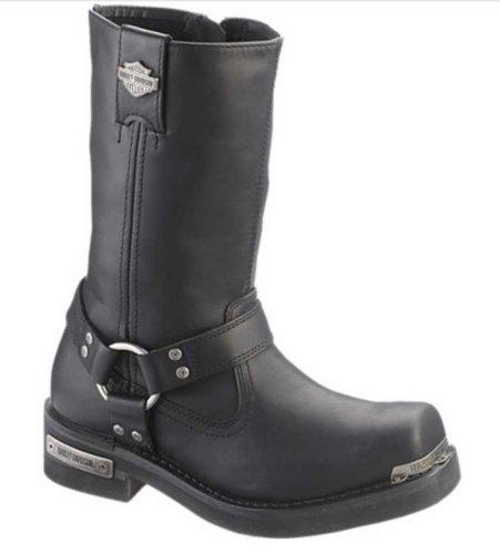 Harley-Davidson Men's Landon 10-Inch Motorcycle Boots Black, Brown D96047 D96051