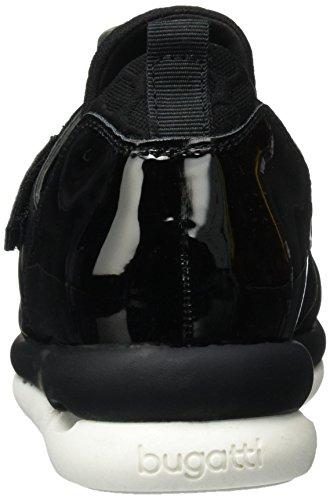 Bugatti J94646n6, Zapatillas para Mujer Negro (Schwarz 100)