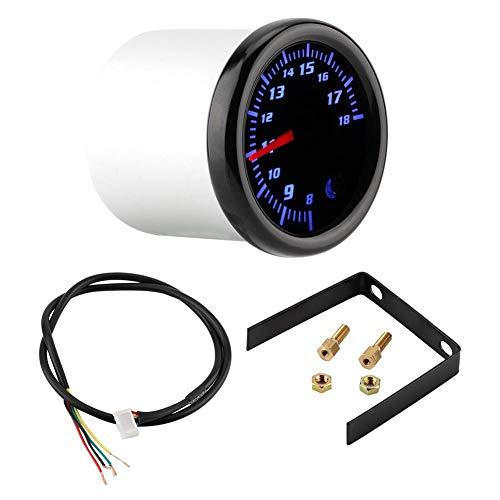 Volt Meter Gauge, 2inch 52mm Universal Car Auto LED Volt Voltage Meter Gauge Voltmeter 7 Color: