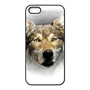 The Wolf Hight Quality Plastic Case for Iphone 5s