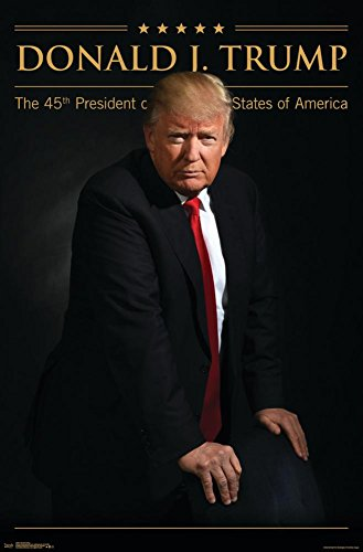 "Trends International Donald Trump President of The Us Wall Poster 22.375"" x 34"""