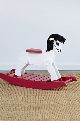 Kids Rocking Horse, Wooden Rocking Horse, Customizable by South Bend Woodworks
