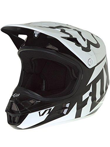 Fox Helm V1 Race Schwarz Gr. S