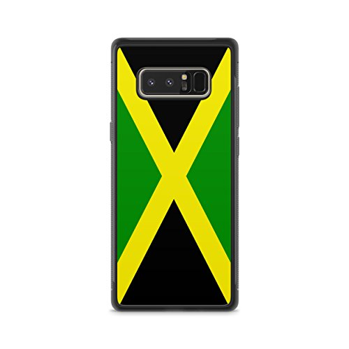 Jamaican Flag Hybrid Rubber Protective Case (Note 8)