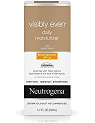 Neutrogena Visibly Even Daily Moisturizer With Broad Spectrum Spf 30 Sunscreen, 1.7 Fl. Oz.
