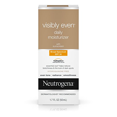 Price comparison product image Neutrogena Visibly Even Daily Moisturizer With Broad Spectrum Spf 30 Sunscreen, 1.7 Fl. Oz.