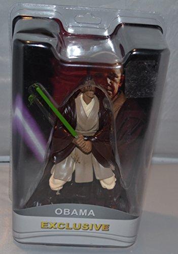 (Obama Star Wars Jedi Figure Exclusive (Green)