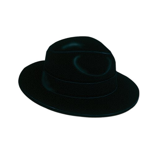 Velour Gangster Hat - 9