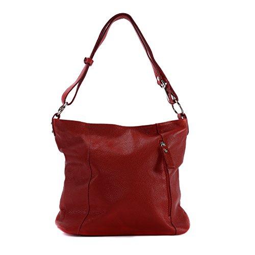 So Sac Rouge BAG à Clair MY Main Modèle CUIR OH italien en Chic femme wqSvT4E