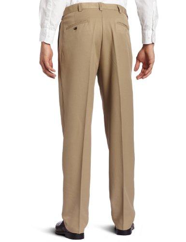 Haggar Men's Big-Tall Cool 18 Pleat-Front Pant