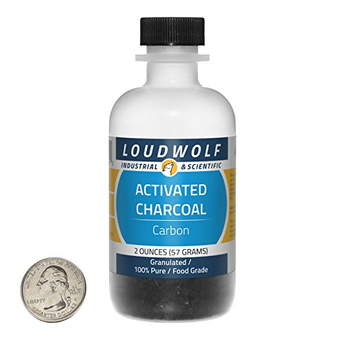 Activated Charcoal/Course Granules / 2 Ounces / 100% Pure/Food Grade/SHIPS FAST FROM USA