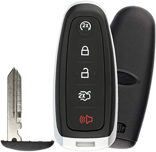 KeylessOption Keyless Entry Car Remote Start Smart Key Fob for Ford Lincoln ()