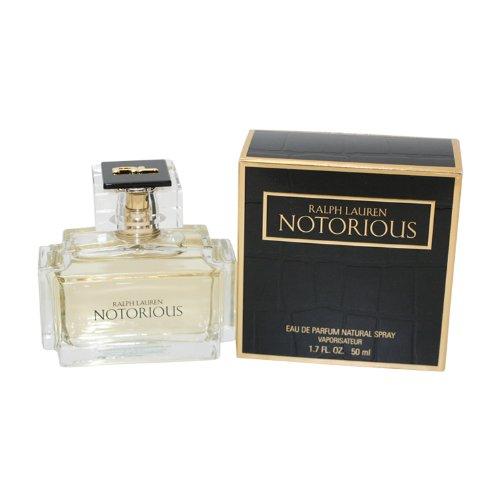 Notorious by Ralph Lauren for Women, Eau De Parfum Natural Spray, 1.7 Ounce