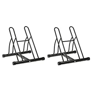 Racor PBS-2R Two-Bike Floor Bike Stand (Pack of 2)
