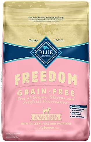 Blue Buffalo Freedom Grain Free Natural Puppy Small Breed Dry Dog Food