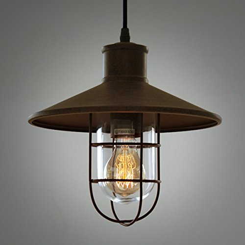 Chandelier,LED Pendant Light Chandelier LED Pendant Lighting Apply to Contemporary Living Room Bedroom Retro Retro Tea Factory loft Industrial Antique Warehouse Birdcage Kitchen Chandeliers 2725cm