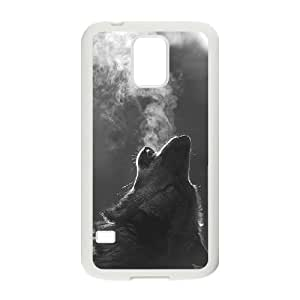 Personalized New Print Case for SamSung Galaxy S5 I9600, Wolf Phone Case - HL-R665357