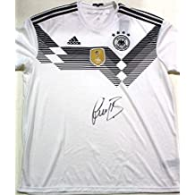 Signed Bastian Schweinsteiger Jersey - Germany World Cup w COA Bayern - Autographed Soccer Jerseys