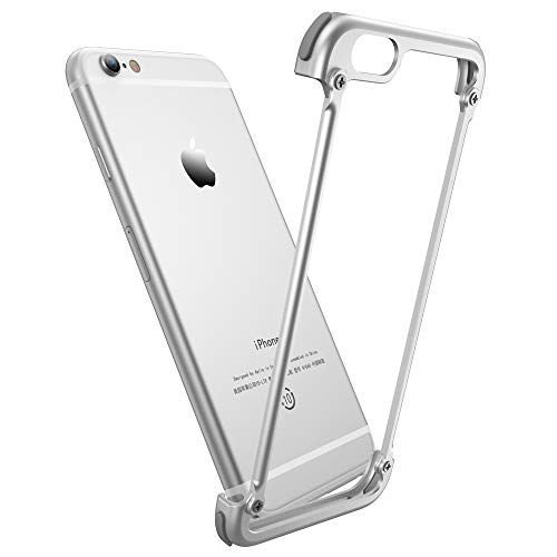 OATSBASF Bumper Case for Apple iPhone 6/6s,Metal Aluminium Alloy iPhone 6/6s Case with Scew