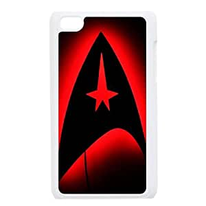 YUAHS(TM) Phone Case for Ipod Touch 4 with star trek logo YAS947101