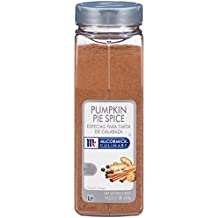 McCormick Culinary Pumpkin Pie Spice, 16 oz, Premium Blend of Cinnamon, Ginger, Nutmeg and Allspice Specifically Made for Chefs, Great for Pumpkin Pie, Sweet Potatoes, Streusel and More
