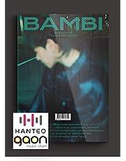Exo Baekhyun - Bambi [Photobook Night Rain ver.] (3º mini álbum) [pré-pedido] CD + álbum de fotos + pôster dobrado + outros com rastreamento, adesivos decorativos extras, cartões fotográficos