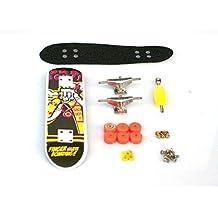 Remeehi Finger Skateboard Set Metal Nuts Trucks Basic Bearing Wheels