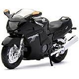 Maisto 1:18 Honda CBR1100XX Die Cast Bike, Black