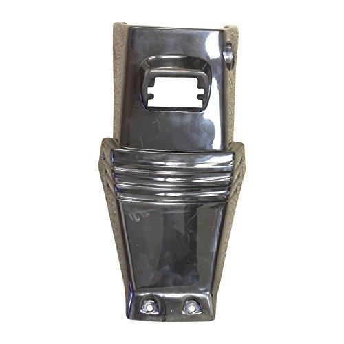 Kazuma Meerkat 50cc Front Grill Nose Panel Black Kids ATV Quad 4-Wheeler - Front Nose Panel