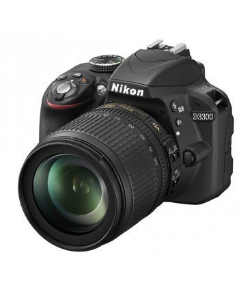 Nikon D3300 Cámara réflex digital cubierta + objetivo (S) 18 ...