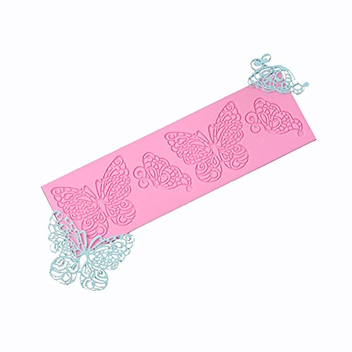 Butterfly Shape Silicone Lace Mat Mold Lace Cake Decorating Tools Sugar Mold
