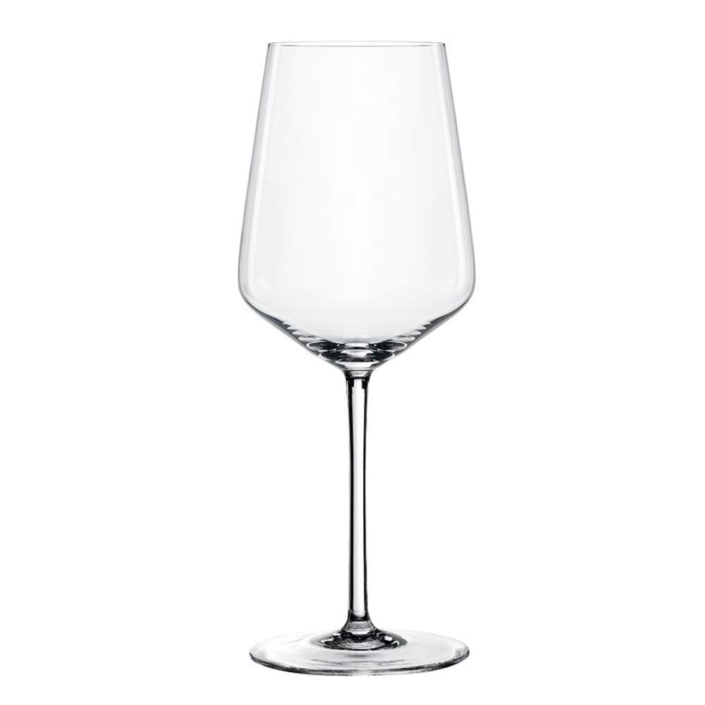 Spiegelau Style White Wine Glasses (Set of 4), Clear