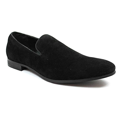 Black Suede Loafers Modern Dress product image