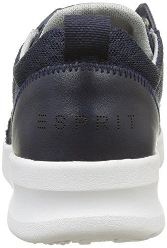 ESPRIT Damen Lune Lace Up Sneaker Blau (400 Navy)