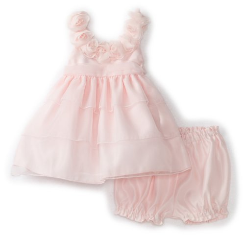 Princess Faith Baby Girls' Short Sleeve Dress