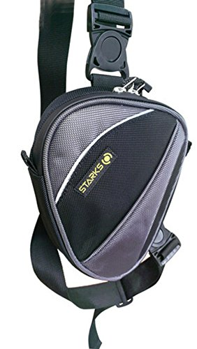 Adulto Starks Hip Bag WP1 Water Proof, nero, 20 x 7 x 24 cm, 1 litro, LC0004