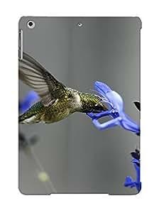 Awesome 59c40e11609 Crazylove Defender Tpu Hard Case Cover For Ipad Air- Bird Field Flower Macro Blue Hummingbirds