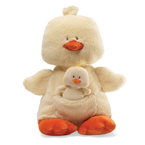 Gund Simply Modern Momma and Baby Duck 12