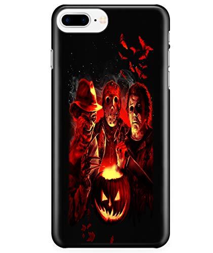 iPhone 7 Plus/7s Plus/8 Plus Case, Stab Four Halloween Case for Apple iPhone 7 Plus/7s Plus/8 Plus, Pumpkin Halloween iPhone Case (iPhone 7 Plus/7s Plus/8 Plus Case - -