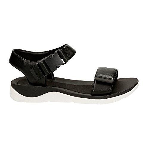 Clarks Kvinna Cava Dixie Sandaler Svart Läder