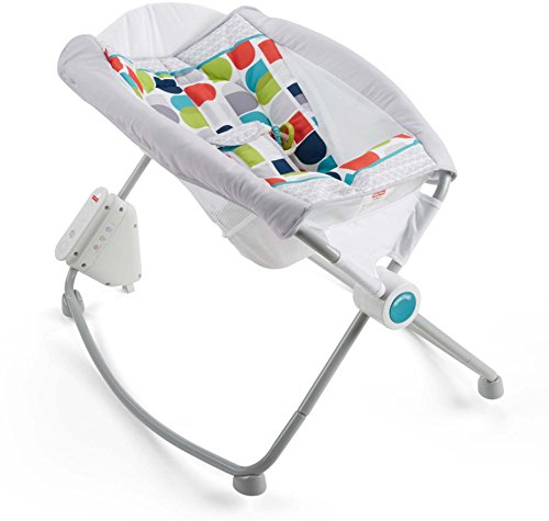 Fisher-Price Auto Rock 'n Play Sleeper, Color Climbers [Amazon Exclusive]
