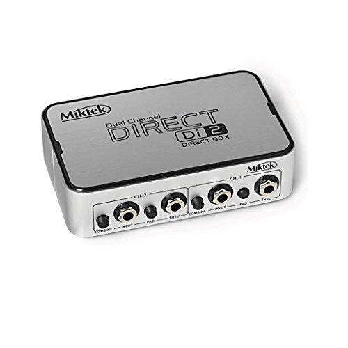 Miktek Di2 Two-Channel Active Direct Box