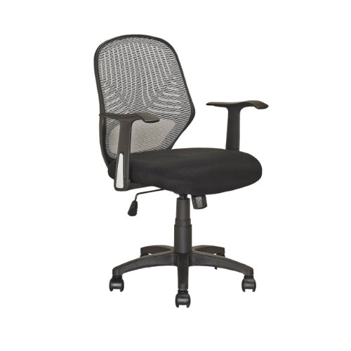 CorLiving LOF-209-O Office Chair, Black
