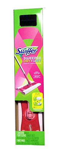 Swiffer® Sweeper® Floor Mop Starter Kit LIMITED EDITION PINK - Support Breast Cancer (Cancer Mop)