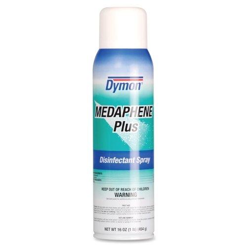 Dymon Medaphene Plus Disinfectant Spray - Spray - 20 oz (1.25 lb) - Fresh Clean ScentBottle - Red, (Dymon Medaphene Plus Disinfectant)